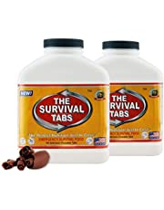 Emergency Food Supply - 7 Days Survival Food for Emergency Situation - Gluten Free and Non-GMO 25 Years Shelf Life (90 tabs - Chocolate)