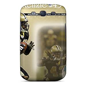 JoanneOickle Samsung Galaxy S3 Scratch Resistant Cell-phone Hard Covers Allow Personal Design HD New Orleans Saints Pattern [PoI7757qoFK]