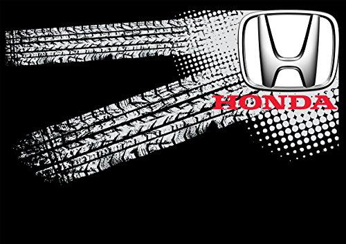 Honda Auto Logo car Schwarze T-Shirt vor Fun -630