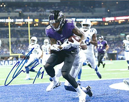 Autographed Chris Moore 8x10 Baltimore Ravens Photo -w COA