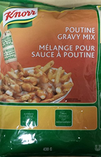 Knorr Poutine Gravy Mix 430g bag 66 servings 4 Litres {Imported from Canada}