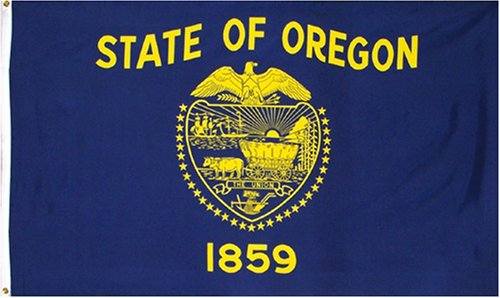Indoor/Outdoor Mail In State Flags, Oregon & Washington Stat