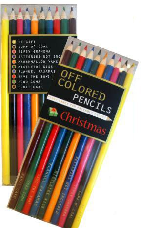 Off Colored Pencils - CHRISTMAS - Funky Names For Friendly Colors (Personalized Christmas Cd)