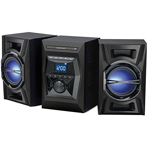 Black Web BWA17AA005 100W Bluetooth CD Stereo System
