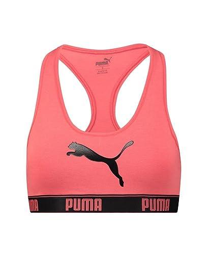 Puma - Sujetador Deportivo - para Mujer Coral XS: Amazon.es: Ropa ...