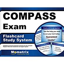 COMPASS Exam Flashcard Study System: COMPASS Test Practice Questions & Review for the Computer Adaptive Placement...