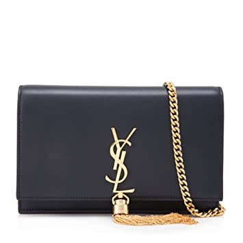 2538bc677cc Amazon.com: LUCY YSL Women's classic plain gold chain shoulder bag ...