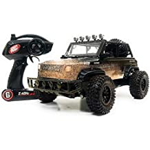 RC SUV Monster Jeep Off Road 2.4 GHz Remote Control Toy Truck 1:12 Scale , High Speed Electric RC Car Toy w/ LED Lights , Mud Defender & Rechargeable Battery