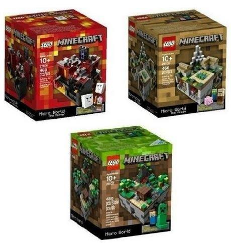 lego 21102 minecraft building set - 2