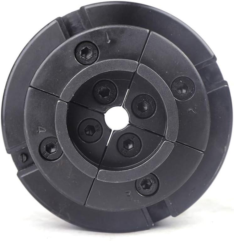 autocentrante ajustable Portabrocas central 4 mordazas M33 para tornos de madera