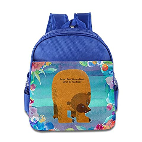 Discovery Wild Kids Child Backpack Satchel School Book Bag, Brown Bear Brown Bear What Do You See - (Emerson Breakout)