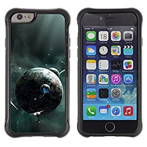 BullDog Case@ Alien Planets Spaceships Future Universe Galaxy Rugged Hybrid Armor Slim Protection Case Cover Shell For iPhone 6 Plus CASE Cover ,iphone 6 5.5 case,iPhone 6 Plus cover ,Cases for iPhone 6 Plus 5.5