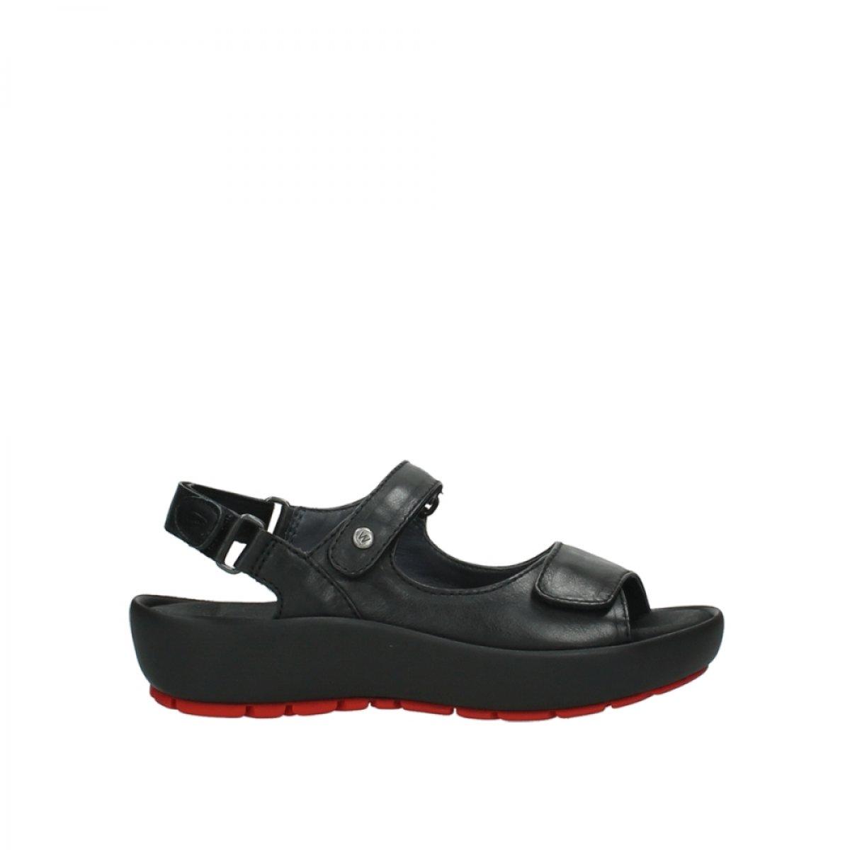 Wolky Comfort Rio B007OANLIC 36 M EU|20000 Black Leather