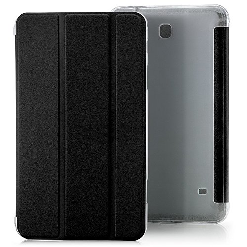 Saxonia Samsung Galaxy Tab A 10.1 Funda Case Slim Smart Protección Cover Motivo Dont Touch My Pad Negro