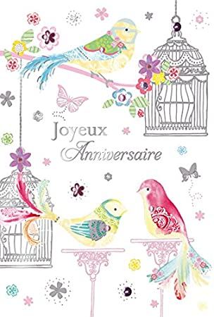 Carte postale anniversaire amazon