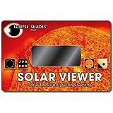 #14 Welder's Glass Solar Eclipse and Sun Viewer-Pleasing Green Image of Sun