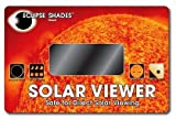#14 Welder's Glass Solar Eclipse and Sun Viewer-Pleasing Green Image of Sun
