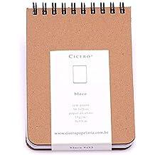 Sketchbook Kraft Bloco 75 g/m² 9,0 x 13,0 cm com 192 Páginas Cicero
