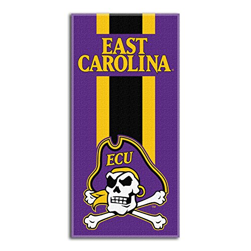 Northwest NCAA East Carolina Pirates  Beach Towel,  30 x 60-inch