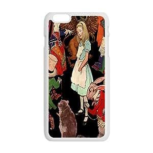 Happy Alice In Wonderland Case Cover For iPhone 6 Plus Case