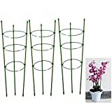 ZILONG Plant Support Garden Support Rings Trellis for Climbing Plants Flowers, With 3 Adjustable Rings (3 set)