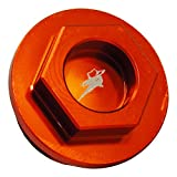 Outlaw Racing PP1100KTO Oil Fill Cap Orange KTM 125EXC 1989-2007 125SX 1992-2015