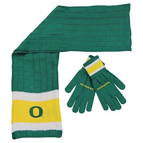 NCAA Oregon Ducks Scarf & Gloves Gift Set