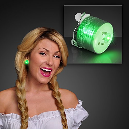 Jade Green Led (Set of 25 Mini Jade Green Non Flashing LED Candy Lites with Clip)