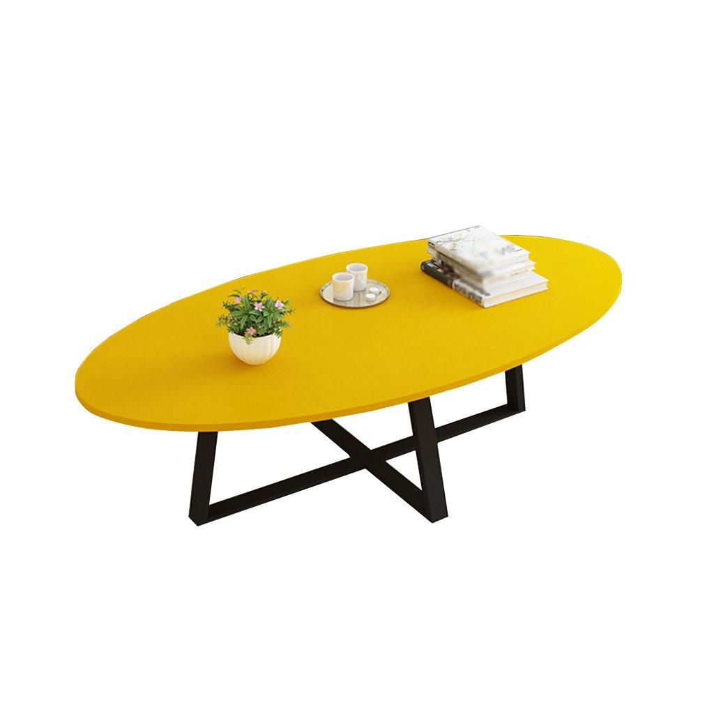 XING ZI Folding table X-L-H Kreative Tabelle Massivholz Wohnzimmer Kreative Couchtisch Schlafzimmer, Restaurant Multifunktions-Klapptisch Studieren Büro Computertisch 45x50x100CM (Farbe : Gelb)
