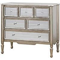 Uttermost 24504 Rayvon Mirrored Accent Chest