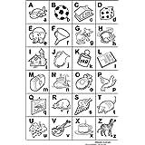 Carimbo Alfabeto Ilustrado Carlu Brinquedos