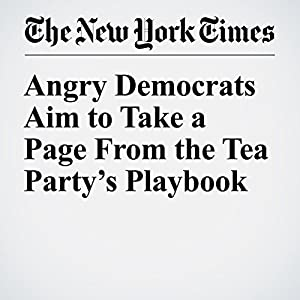 Angry Democrats Aim to Take a Page From the Tea Party's Playbook