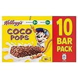 Kellogg's Coco Pops Cereal & Milk Bars - 10 x 20g