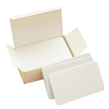 Word Cartes Vierges En Papier Kraft Carte De Visite Study