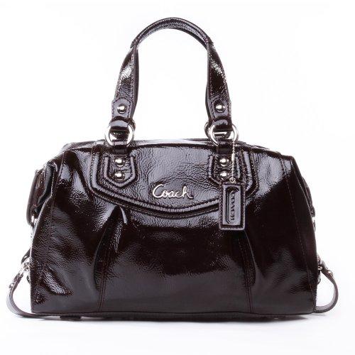 COACH Ashley Patent Leather Satchel