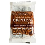 Earnest Eats 100% All-Natural Wheat-Free & Vegan Chewy Baked Energy Bars with Whole Nuts, Fruits, Seeds and Grains  - Choco Peanut Butter, 1.9 Oz. Bars (Pack of 12),
