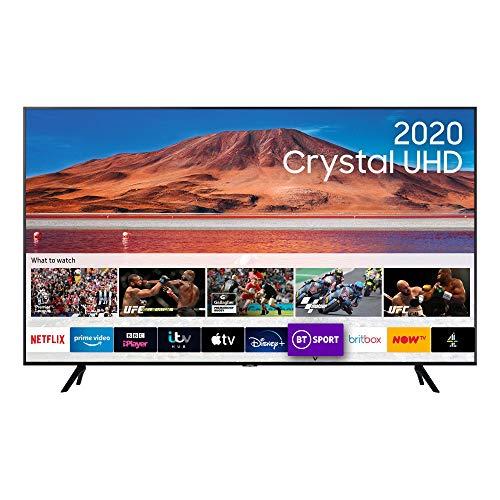 Samsung 55″ TU7000 HDR Smart 4K TV with Tizen OS, Black