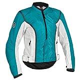 Firstgear Women's Contour Mesh Blue/White Jacket, L