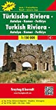 Turkish Riviera, West: -Antalya - Kemer - Fethiye Road & Leisure Map (Ountry Mapping S.)