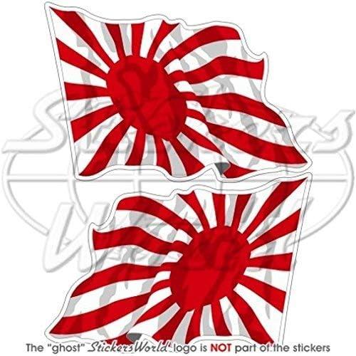 Japón Rising Sun de bandera de saludando de la Marina Imperial ...