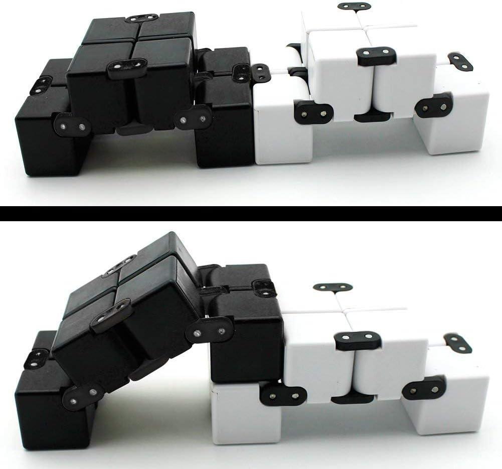 Yojoloin 2PCS Fidget Cubo Mágico Puzzle Flip Cube Ball Alivia la ...