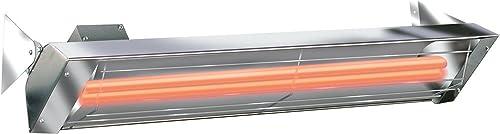 Infratech WD Series 5000 Watt 240V Electric Infrared Quartz Patio Space Heater