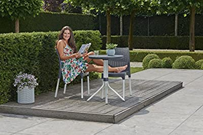 Keter Chelsea Patio Table and Chair