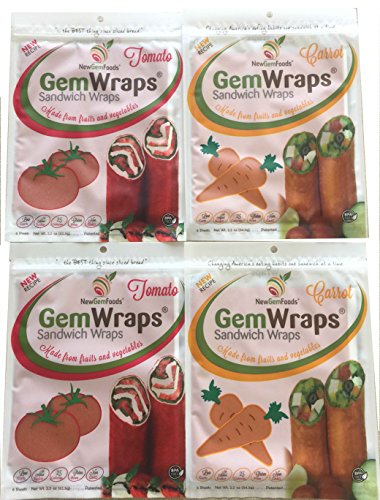 - GemWraps 24ct Value Pack- Carrot & Tomato