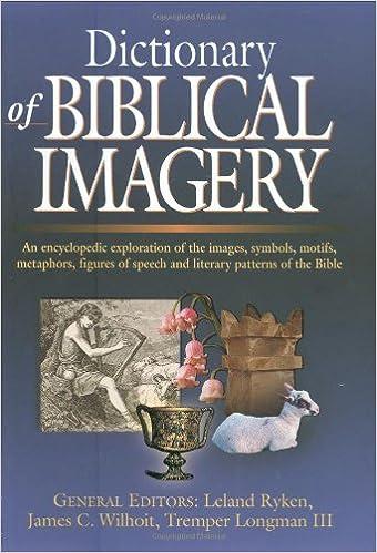 Dictionary Of Biblical Imagery Leland Ryken James C Wilhoit