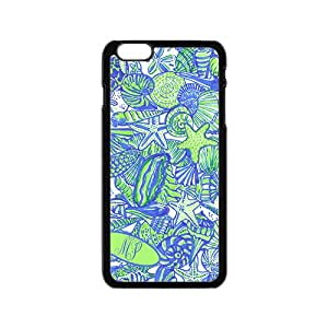 Fresh simple starfish and shell pattern Cell Phone Case for Iphone 6