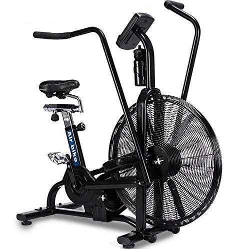 フィットネス機器スポーツ用自転車、回転式ダイナミック自転車/風抵抗エアーバイク/多機能ファンカー、ジム用品エクササイズウィンドバイク、スピニングアサルトエアーバイク   B07RWCJXZK