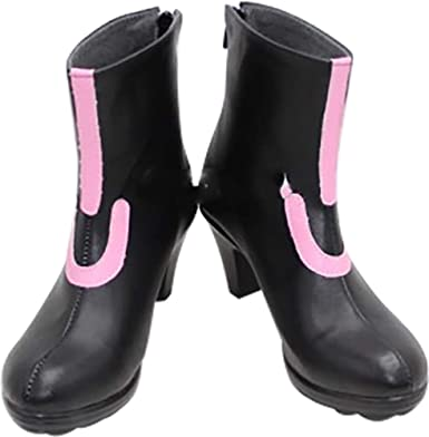 Mingchuan Cosplay Boots Shoes for Touken Ranbu Online Gokotai Black