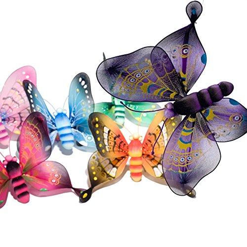 Beistle 50725 Majestic Butterflies, 10-Inch