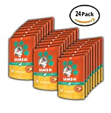 PACK OF 24 - IAMS PROACTIVE HEALTH Hairball Care Daily Treats for Cats Chicken Flavor 2.47 Ounces